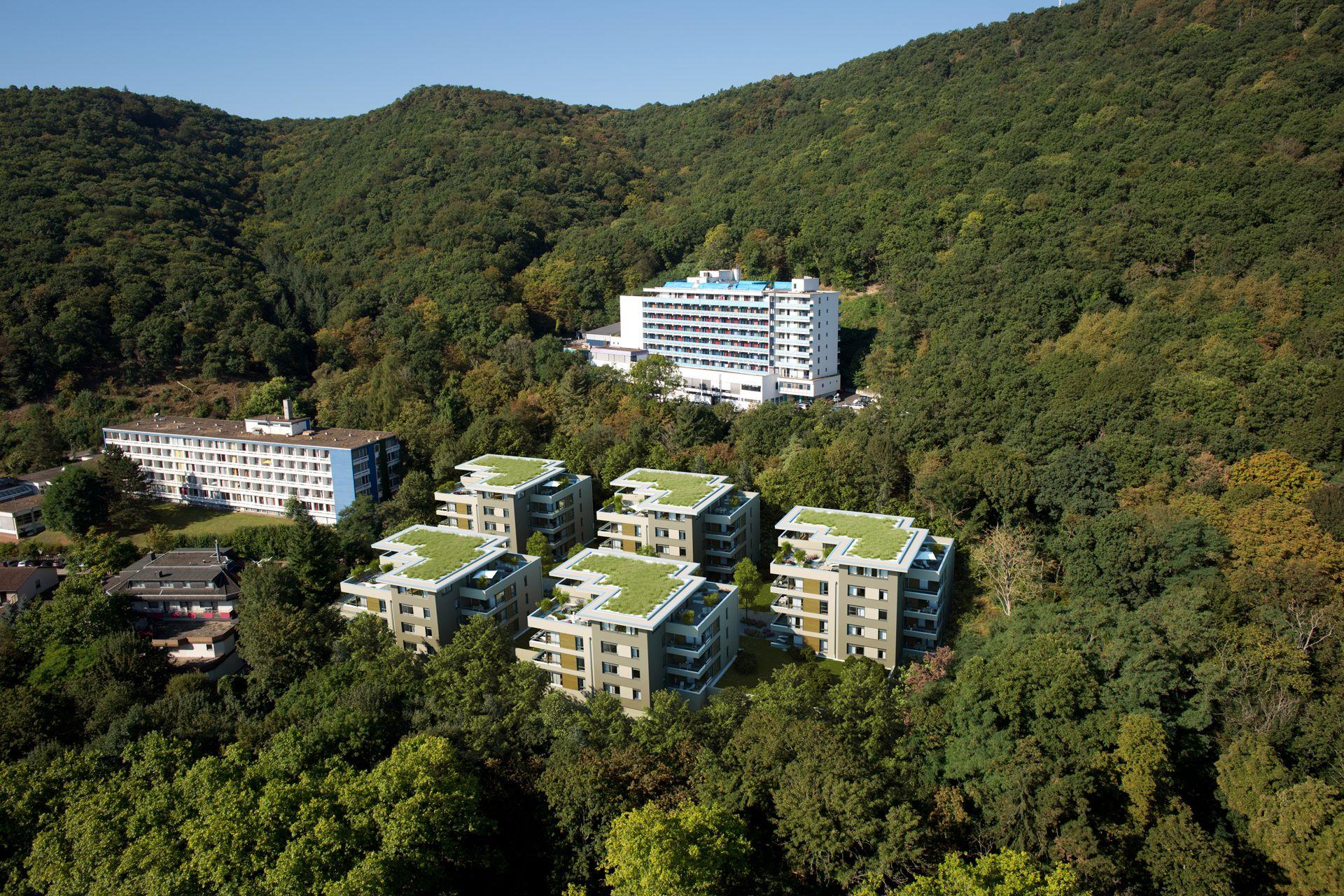 Architekturvisualisierung Salinenpark Bad Kreuznach