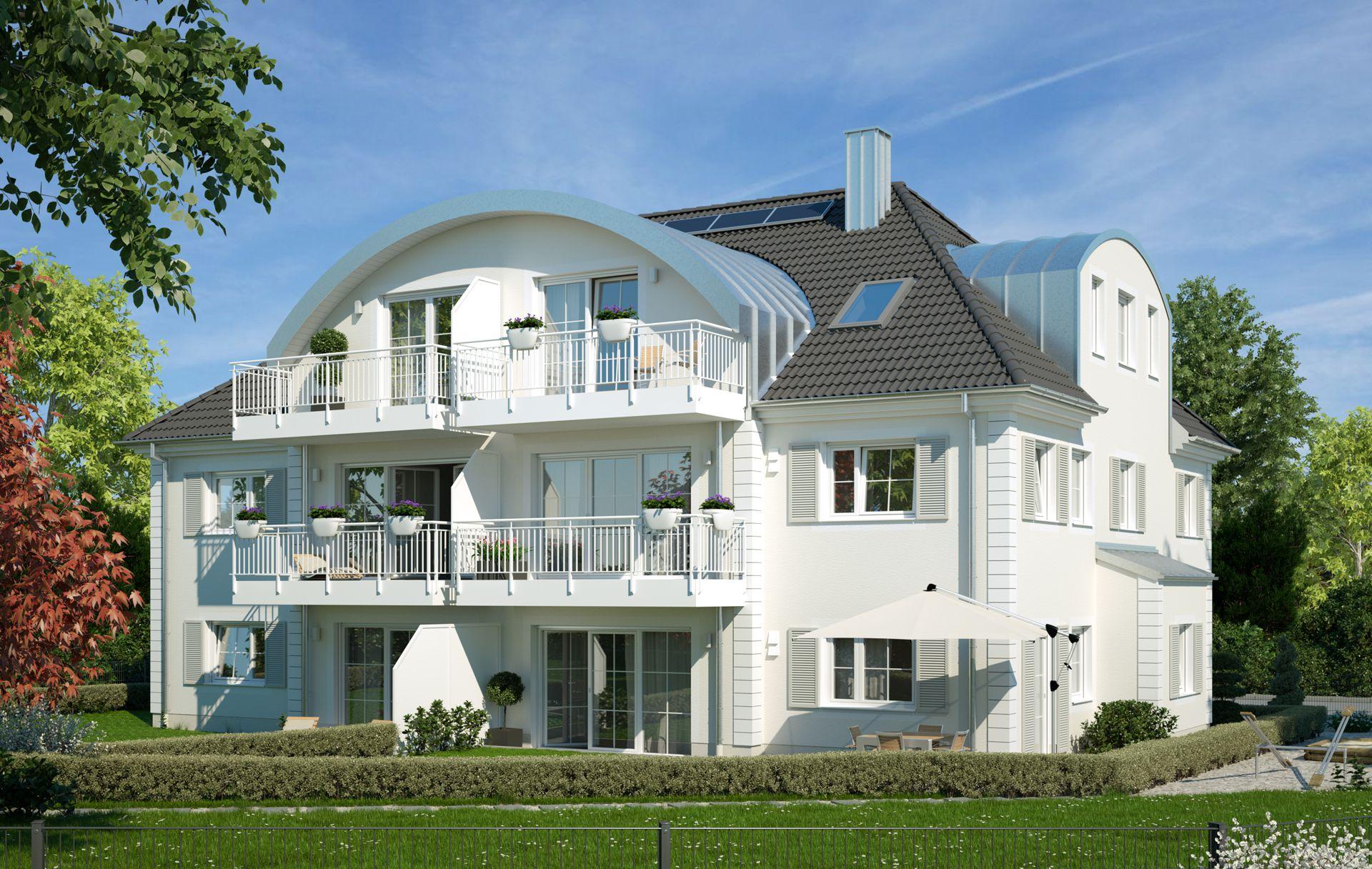 Architekturvisualisierung Stadtvilla München