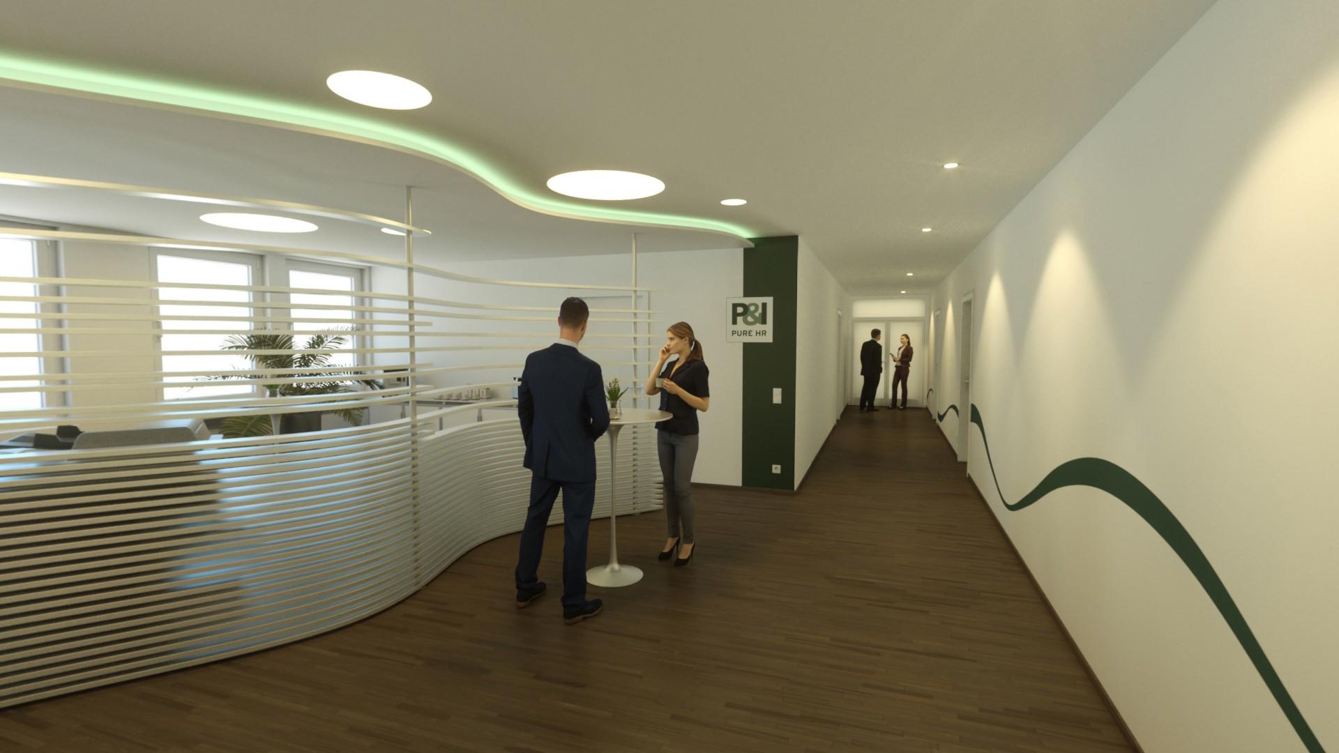P&I Visualisierung Plankosmos Lounge