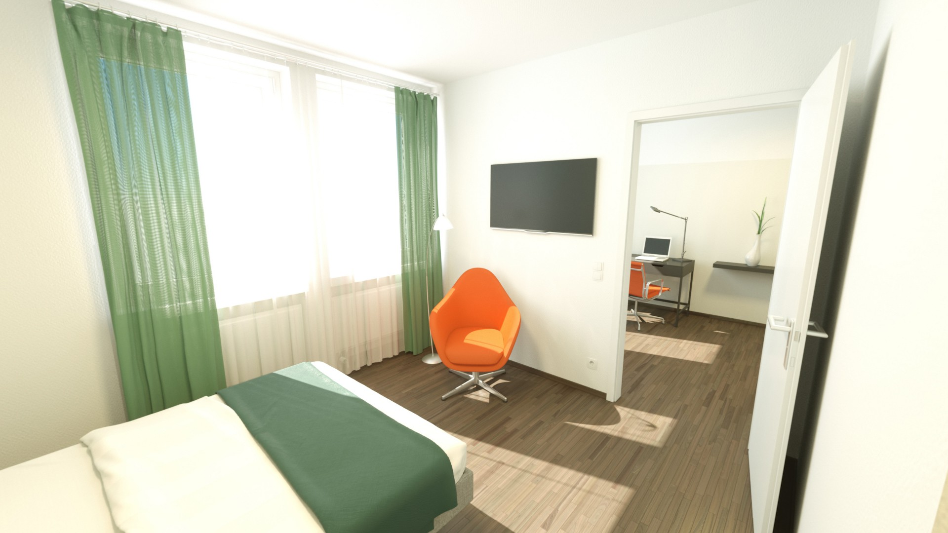P&I Visualisierung Plankosmos Apartment