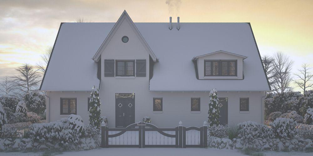 Plankosmos 3D Architekturvisualisierung Winterbild