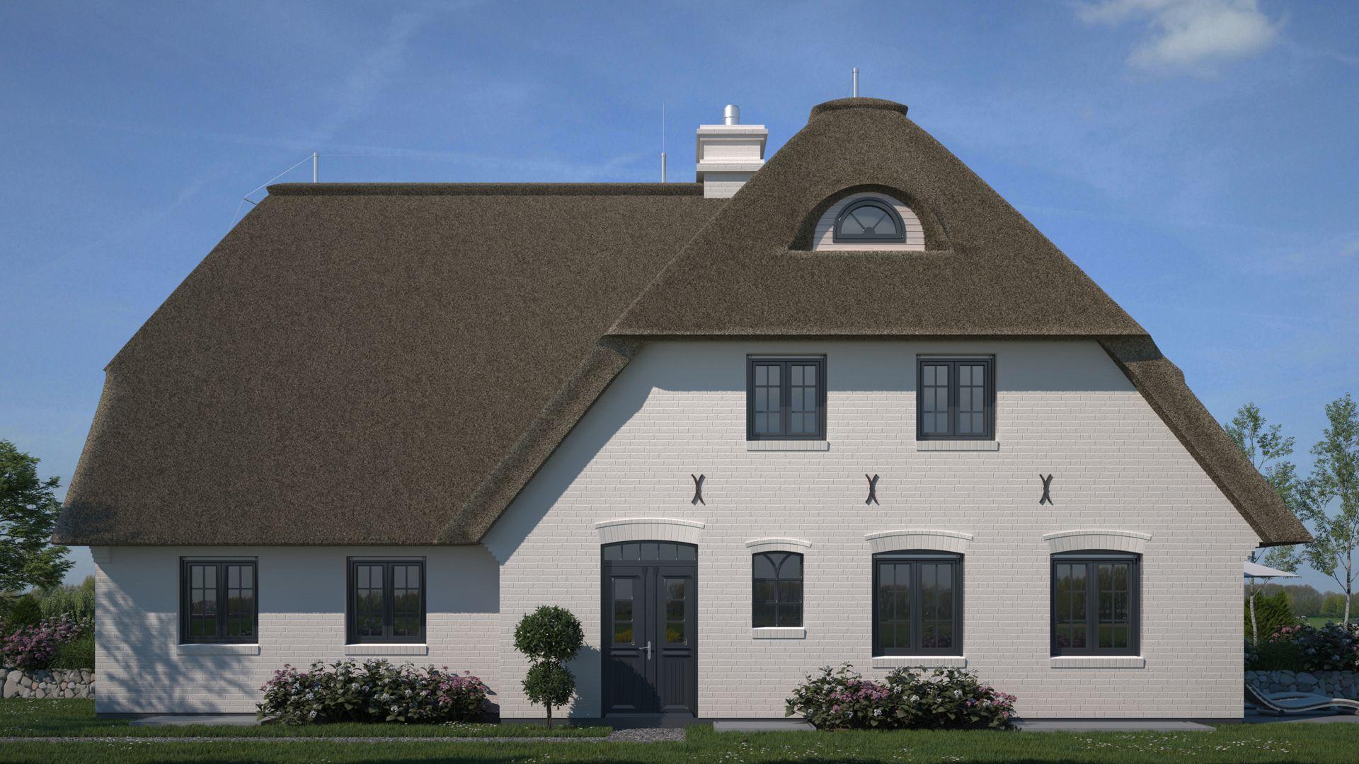 Visualisierung Doppelhaus Sylt