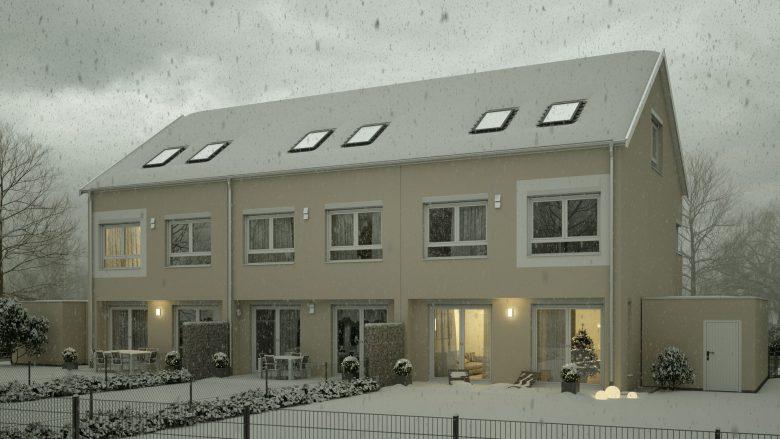 Visualisierung Weihnachtsbild - Winterbild