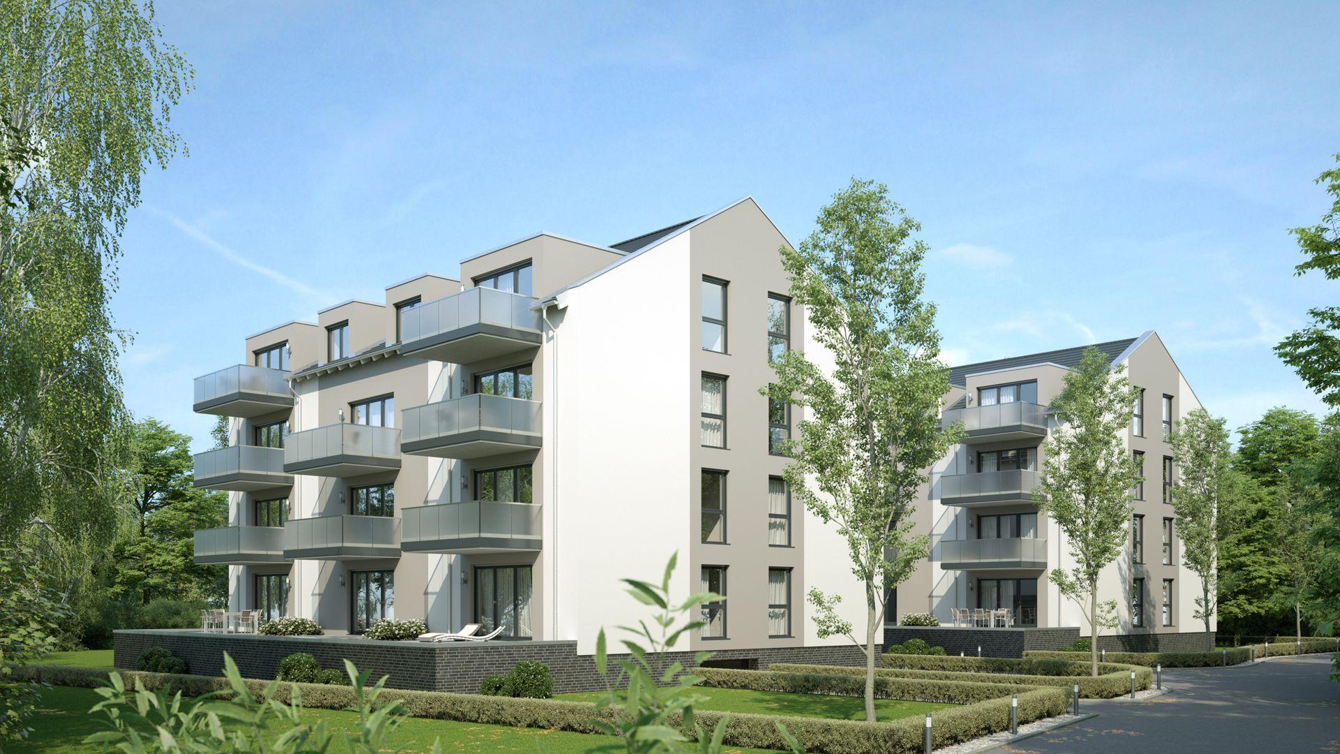 3D Visualisierung Berlin Königs Wusterhausen Wohnhäuser