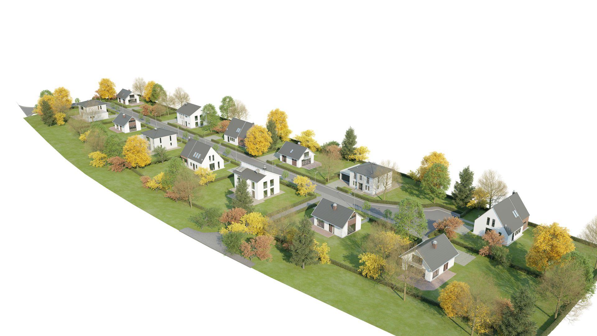 3D Visualisierung Berlin Werneuchen Seefeld Wohnsiedlung