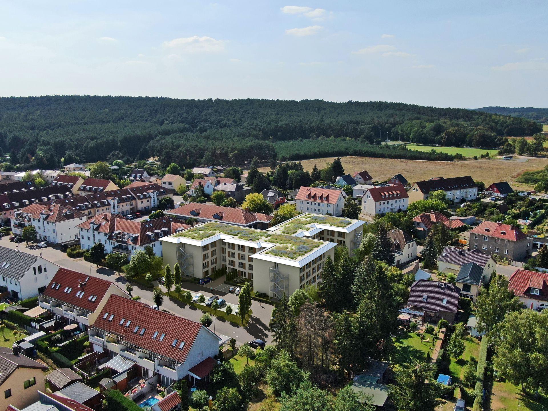 3D Visualisierung Seniorenwohnheim Saarmund bei Berlin