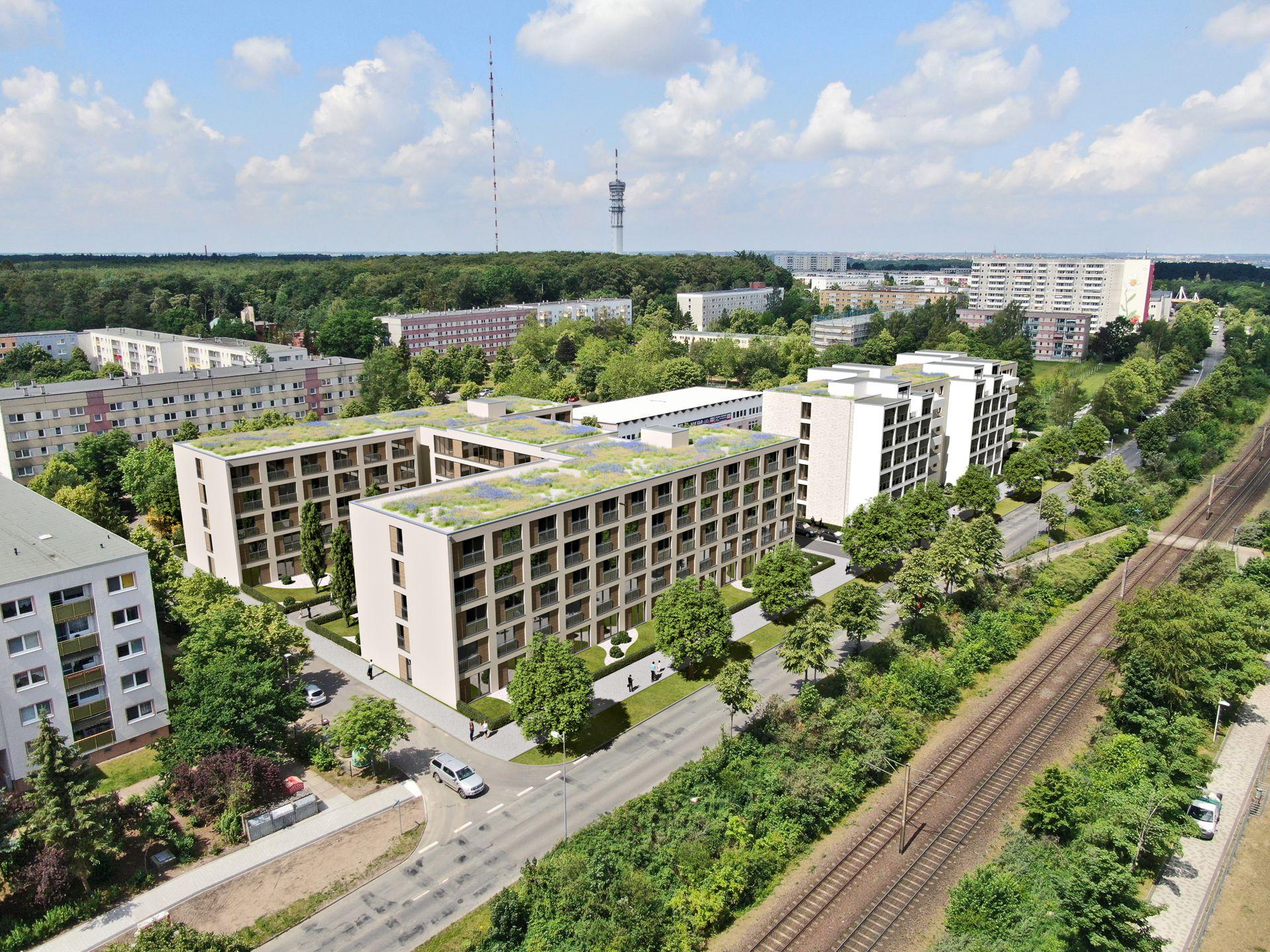 3D Visualisierung Baulandentwicklung Berlin Schwerin