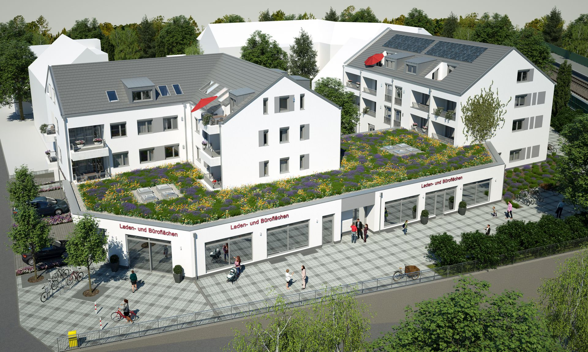 3D Visualisierung München Gröbenzell