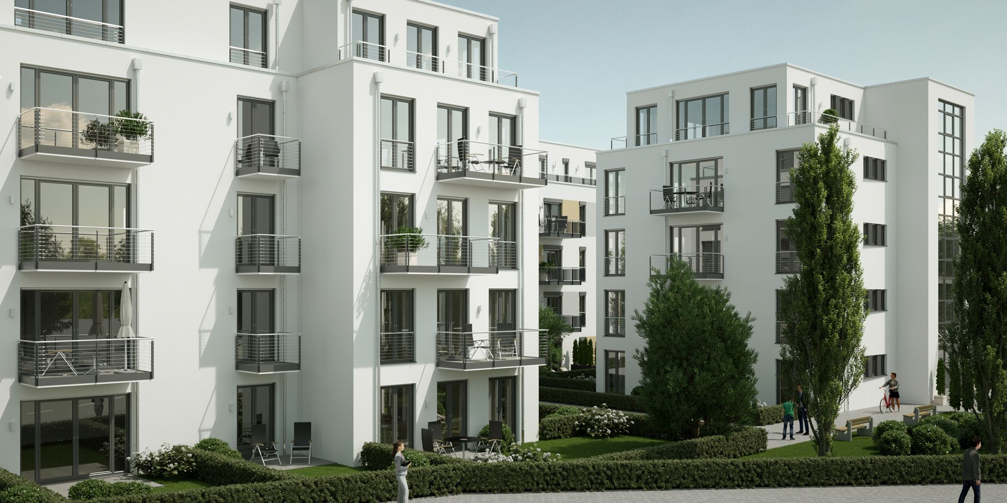 3D Visualisierung Wohnbauprojekt Berlin Köpenick